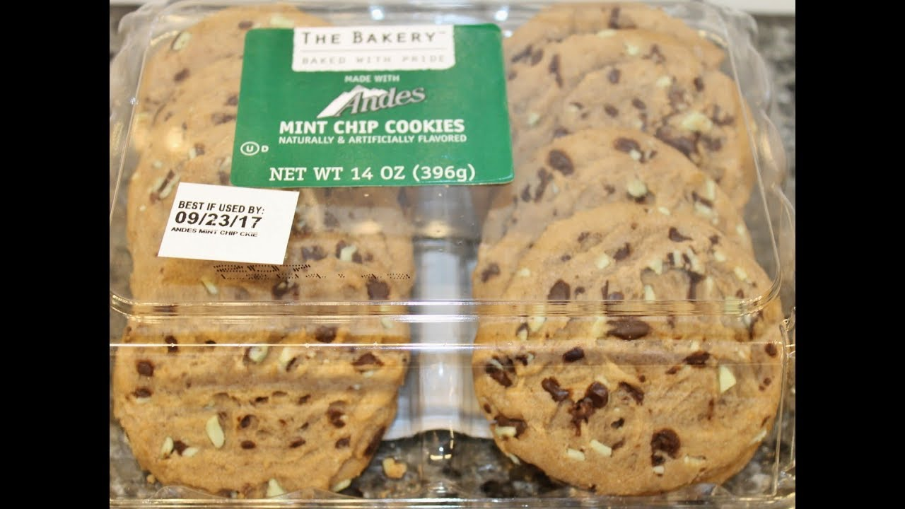 The Bakery Walmart Andes Mint Chip Cookies Review
