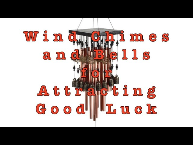 Things To Consider When Using Wind Chimes in Feng Shui