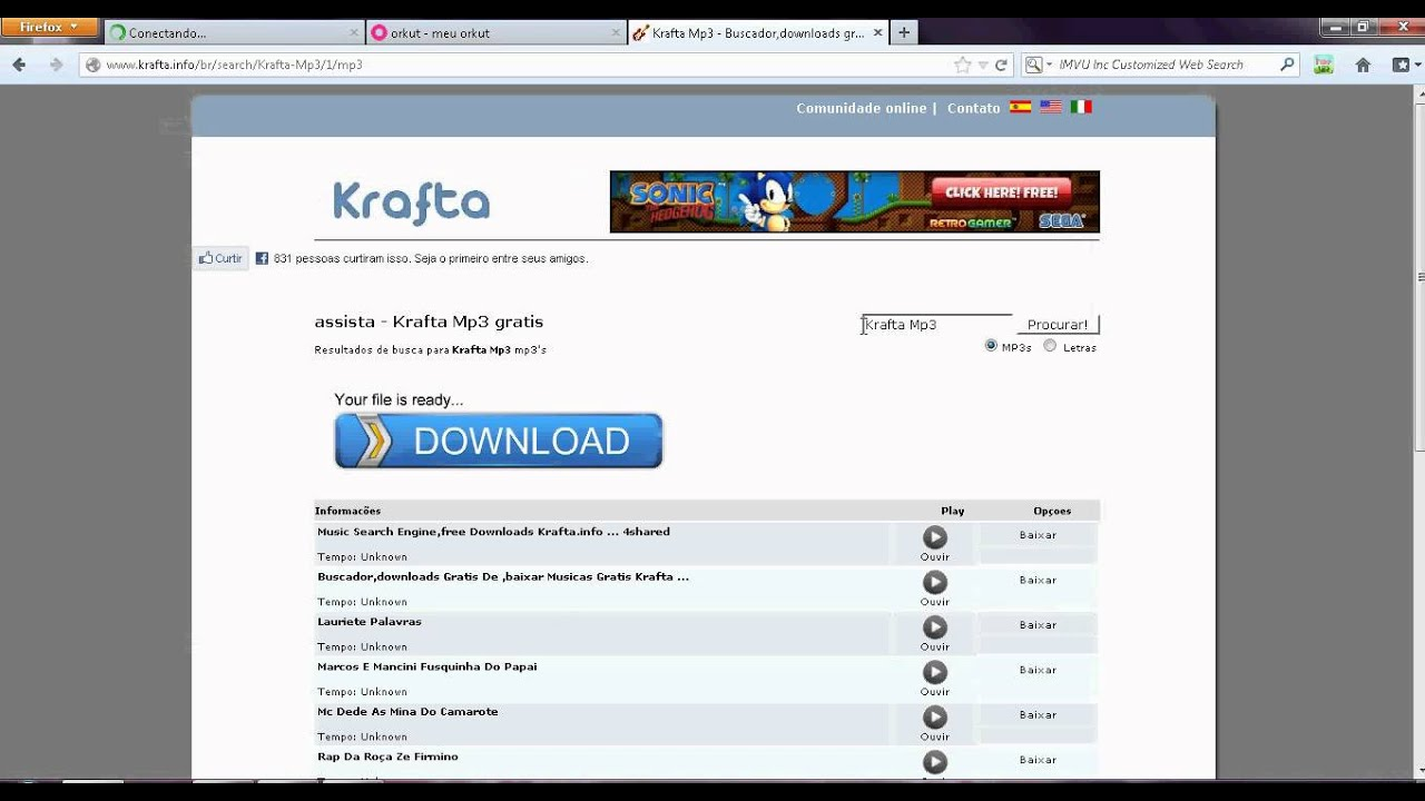 COMO BAIXAR MÚSICA NO KRAFTA MP3 - YouTube