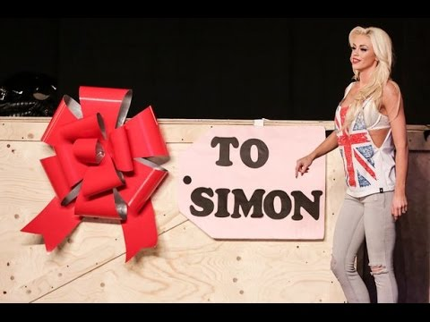 Chloe Louise Crawford Playboy Magican Britain's Got Talent EXCLUSIVE