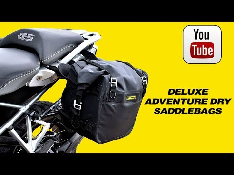 bfc6170f7fe9 Rigg Gear SE 3050 Deluxe Adventure Dry Saddlebags - YouTube