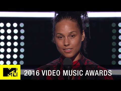 Alicia Keys Emotional Speech | 2016 Video Music Awards | MTV