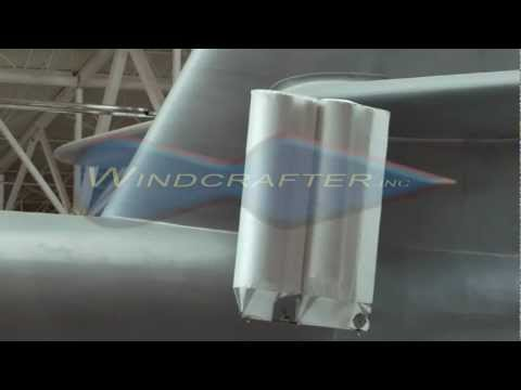 Windcrafter Carangi Airship Demo Video (2:05)