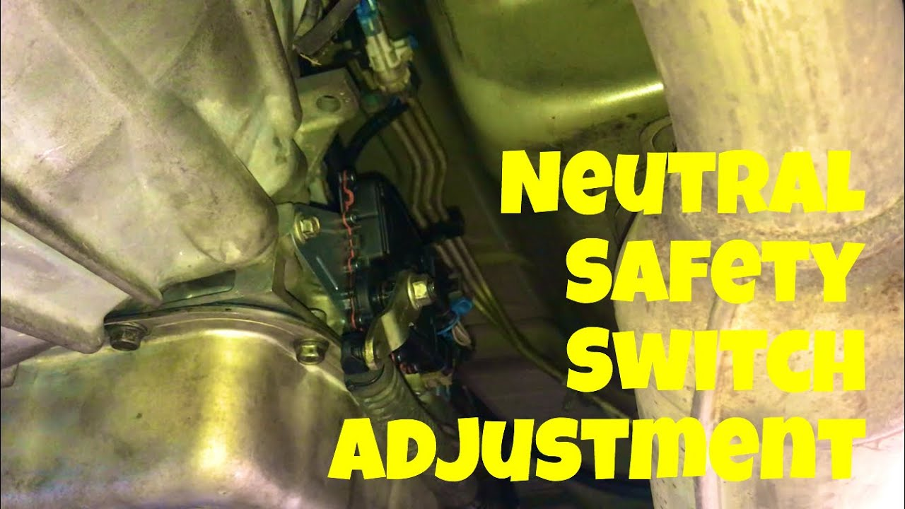 03 suburban neutral safety switch adjustment youtube