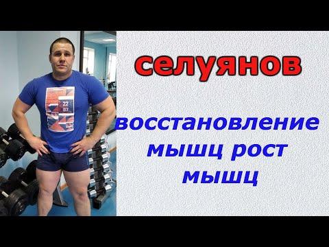 СЕЛУЯНОВ.Восстановления и рост мышц.