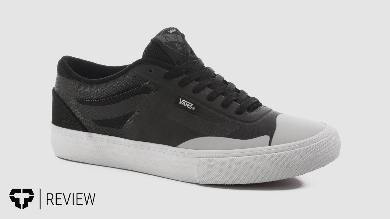 8bb7dbbaefa9b6 Vans AV Rapidweld Pro Lite Skate Shoes Review - Tactics.com - YouTube