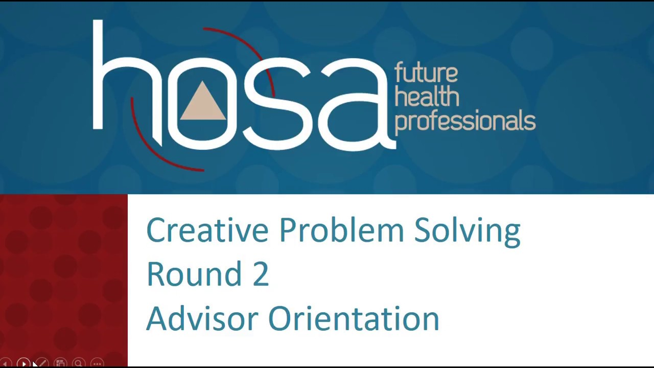 creative problem solving hosa study guide
