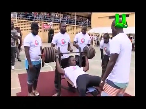 Daniel Duncan Wins Accra Polytechnic Most Strongest.