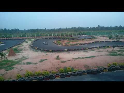 Go Karting race at Red Rider Sports, Bangalore