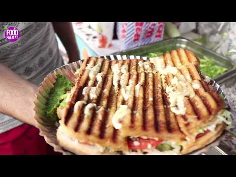 Bombay Special Sandwich - Street Food Mumbai - Indian Street Food | Veg Sandwich Step By Step