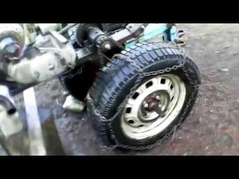 Как из мотоцикла сделать мотоблок фото 811