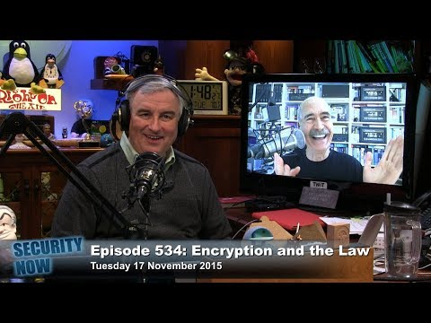 Security Now 534: Encryption and the Law