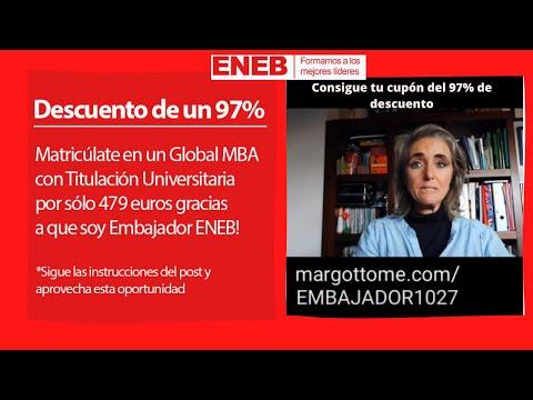 🌟DESCUENTO 🌟PARA EL TRIPLE MASTER Y MBA Global MBA ENEB
