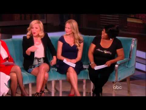 Jessica Capshaw  The View   16.05.2013