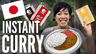 JAPANESE Instant CURRY TASTE TEST