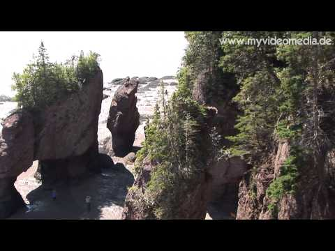 Hopewell Rocks, New Brunswick - Canada HD Travel Channel