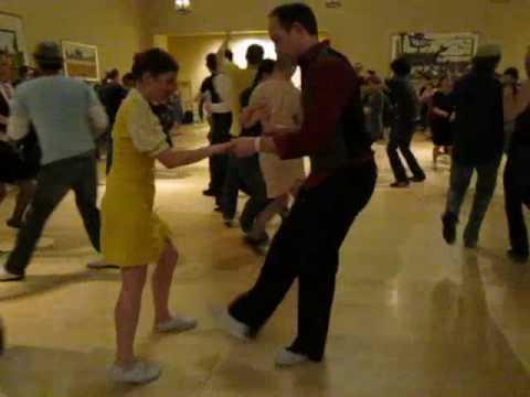 The Boston Tea Party 2010 - Nick Williams & Kelly Arsenault Social Dance - Swing Dance Exchange