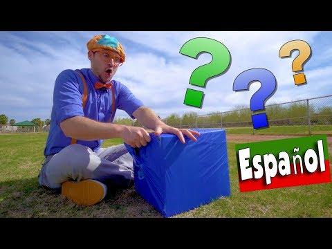 Aprende Los Colores para Niños Pequeños con Blippi Español | CAJAS DE COLORES