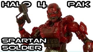 Play Arts Kai HALO 4 RED SPARTAN SOLDIER Figure Review