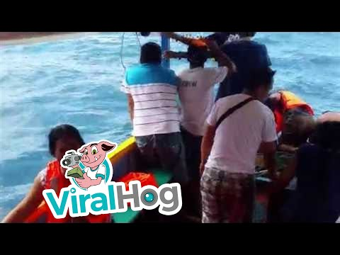 23 People Rescued From Sinking Boat