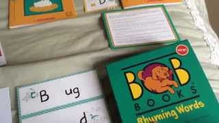 Bob Books Rhyming Words Overview / Review Video