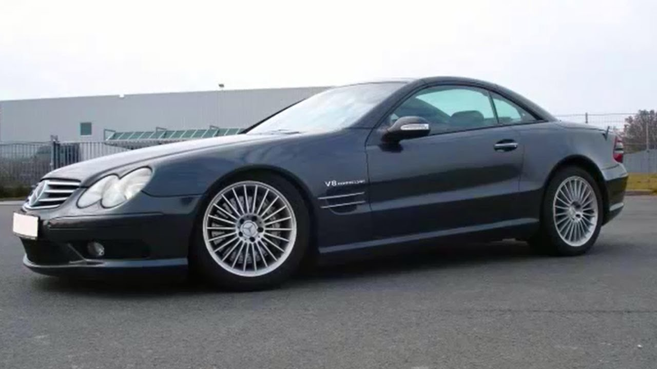 Mercedes benz sl 55 amg presentation high quality hd v8 for Mercedes benz v8 kompressor
