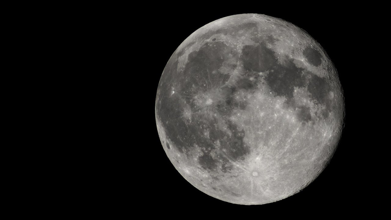 One day after the full moon close up timelapse youtube - Moon close up ...