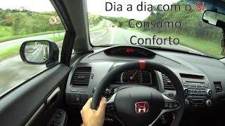 Indo Pegar Estrada Com O Civic Si