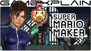Perfect Dark's dataDyne in Super Mario Maker