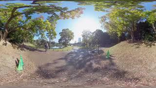 【6K 360 VR】浜離宮恩賜庭園 馬場跡から
