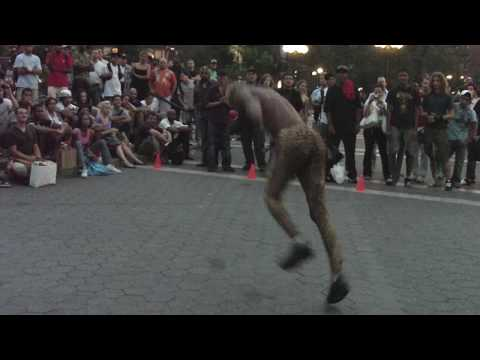 2BPB -- Tylon-- (2 black positive brothers @ Union Square),--Contortionist, acrobat and Break dance