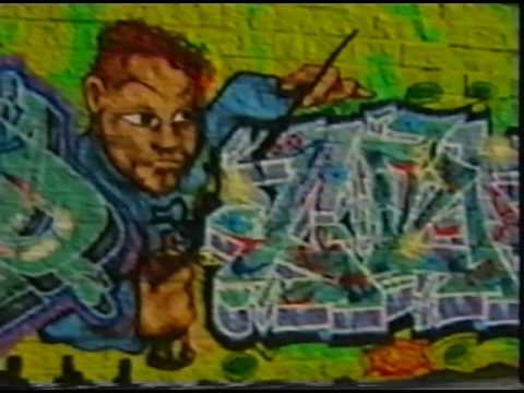 FX CREW (Graffiti Writers Crew) New York, 1998  [RARE VHS documentary archive]