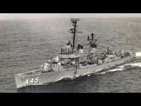 US Navy - USS FLETCHER Destroyer ( NAVAL FORCES SHIPS  TESTING 17/2)