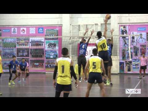 การแข่งขันวอลเลย์บอล นักเรียนของกรมพลศึกษา2558