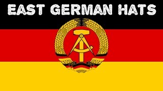 East German field and garrison caps