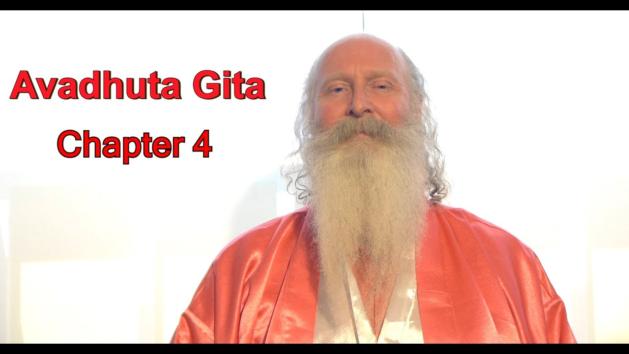 Avadhuta Gita Enlightenment Ch 4 Meditation read by Swami Satchidanand OM Angel Kundalini Blessings