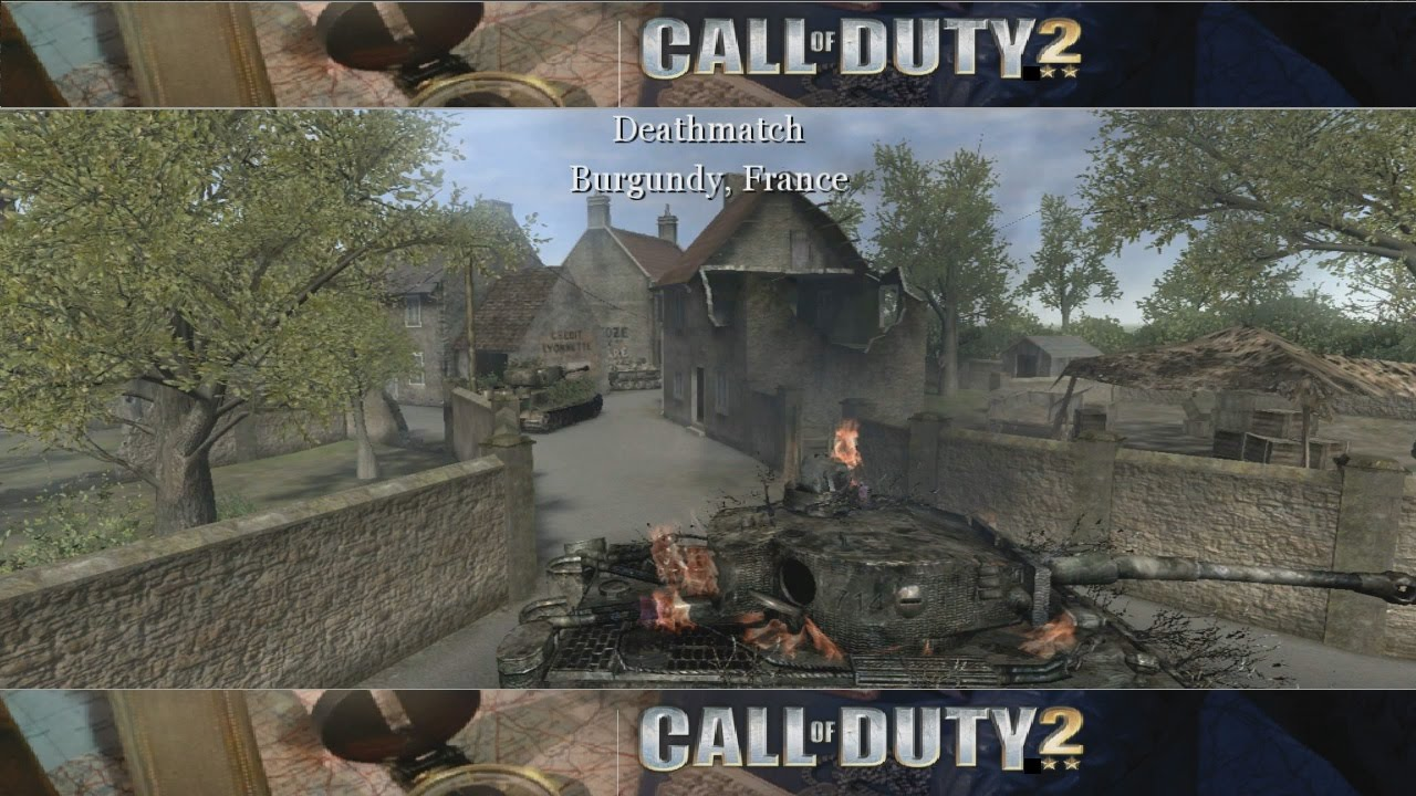 Lets review the call of duty 2 multiplayer maps map 03