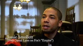 "Jussie Smollett portrays Jamal Lyon on Fox Television's ""Empire"""