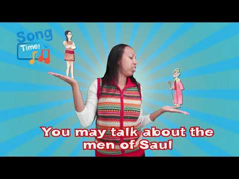 Joshua Fit the Battle of Jericho Kids Bible Song with Lyrics