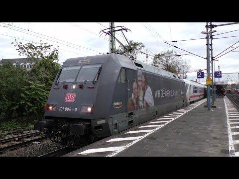 Züge in Bonn Hbf mit ICE BR101 BR146 BR151 BR152 Talent 2 und mehr...