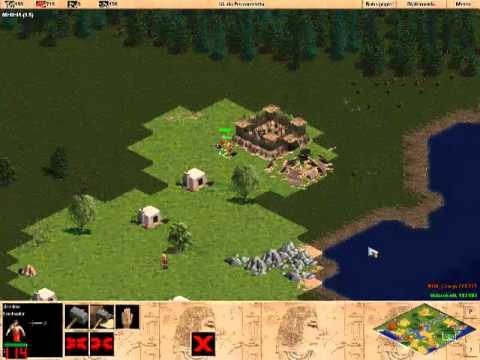 1x1 AOE RM rev - KGB_Crazy vs UnbrokeN ( puma ) - Age of Empires 1 - game 3