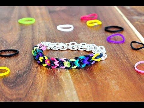 How to make a fishtail bracelet without a loom