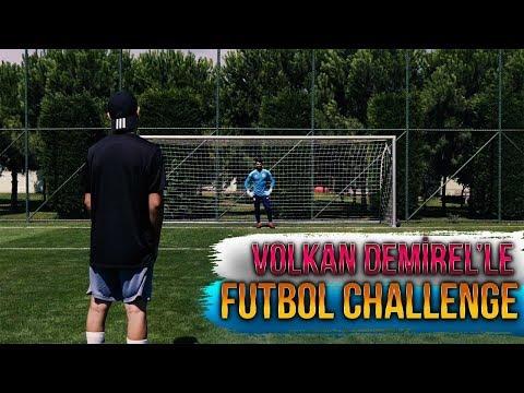 FUTBOL CHALLENGE vs VOLKAN DEMİREL