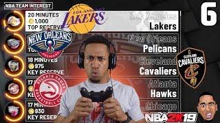 PICKING MY NBA TEAM!! NBA 2k19 My Career Prelude #6