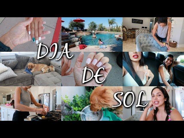 ME QUIERO CORTAR EL CABELLO 💇🏻♀️DÍA DE SOL ☀️LAVANDO LAS SILLAS DE EL COMEDOR 😓  Vlogs  