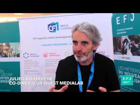 Interview Julien Kostrèche, co-directeur de Ouest Médialab à #4MParis