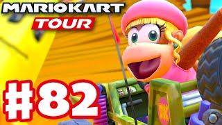 Dixie Kong! Jungle Tour Week 2! - Mario Kart Tour - Gameplay Part 82 (iOS)