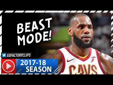LeBron James Full Highlights vs Celtics (2017.10.17) - 29 Pts, 16 Reb, 9 Ast, CRAZY!