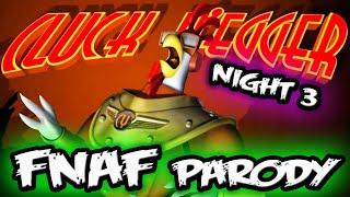 FUNNIEST FNAF CLONE...?    FNAF Parody 'CLUCK YEGGER'    Cluck Yegger Night 3