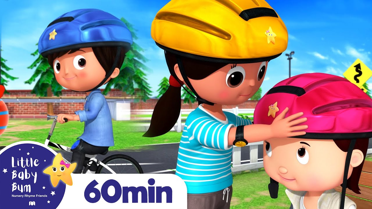 You Can Ride a Bike Song +More Nursery Rhymes and Kids Songs   Little Baby Bum